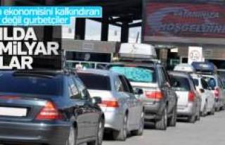 Gurbetçiler tatillerde Türkiye'ye kazandırıyor