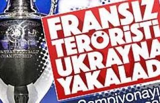 Hedefi EURO 2016 Fransız olan terörist yakalandı