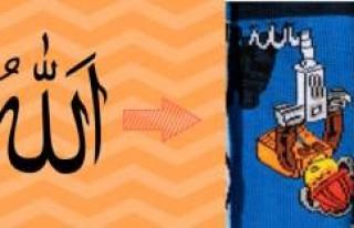 """H&M'in """"Allah"""" yazılı çocuk..."""