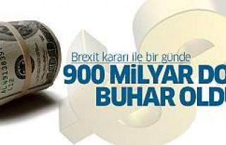 İngiltere AB'den çıktı, bir günde 900 milyar...