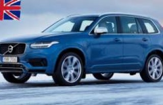 İngiltere'de 16 Yıldır Volvo XC90 İçerisinde...