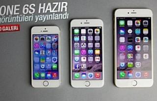iPhone 6S'in ekran görüntüleri yayınlandı