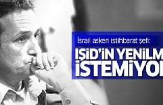 İsrail: IŞİD'İn yenilmesini istemiyoruz