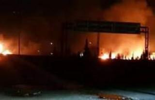 İsrail saldırdı! Esed'in karargahlarında...