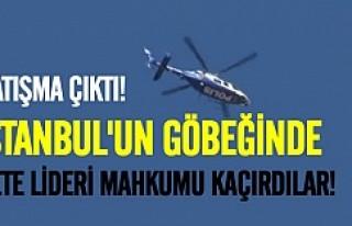 İstanbul'da çatışma mahkum kaçırıldı!