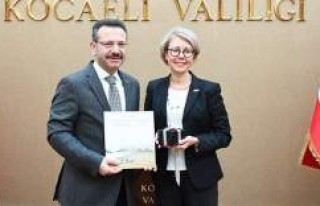 İstanbul İsveç Başkonsolosu Therese Hyden Vali...