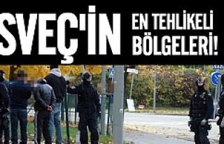 İşte İsveç'in en tehlikeli bölgeleri
