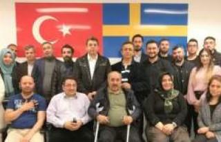 İsveç AK Parti SKM başkanı belli oldu