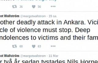 İsveç, Ankara'da yaşanan terör saldırısını...