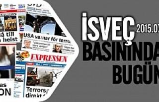 İsveç Basınında bugün 06.07.2015