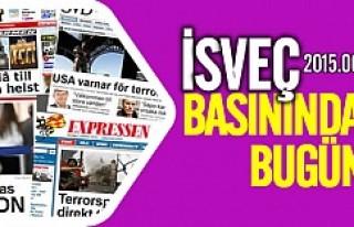 İsveç Basınında Bugün 08.06.2015