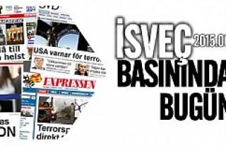İsveç Basınında bugün 11.06.2015