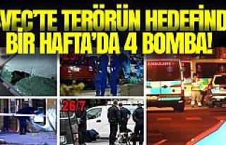 İsveç, bir haftada dördüncü bombalama olayı...