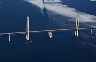 İsveç Danimarka arasındaki Öresund Köprüsü...