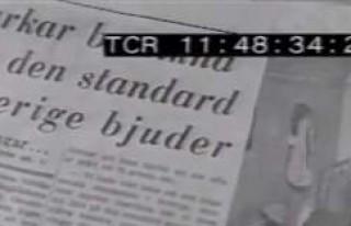 İsveç devlet televizyonu SVT'de 53 yıl önceki...