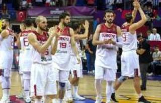 İsveç'e gidecek Türkiye Basketbol Milli Takımı...