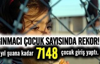 İsveç'e rekor sayıda çocuk sığınmacı!
