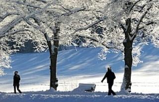 İsveç genelinde dondurucu soğuk devam edecek