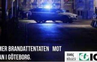 İsveç İGMG, Göteborg'daki sinagog saldırısını...