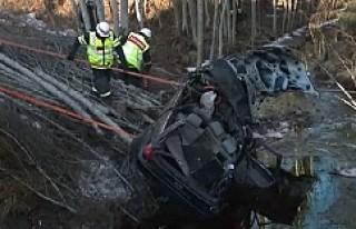 İsveç'in en feci kazası meydana geldi