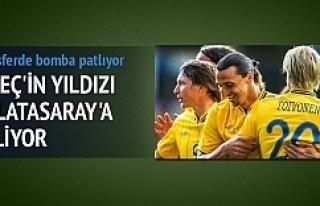 İsveç'in yıldızı Galatasaray'a geliyor