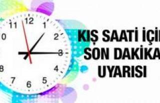 İsveç'le Türkiye arasındaki saat farkı yarın...