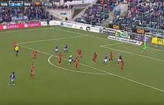 İsveç Ligi'nde Sundsvall'lı Futbolcu,...