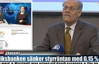 İsveç Merkez Bankası Faizi Değiştirmedi