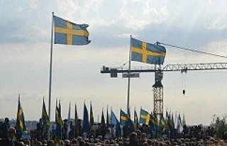 İsveç Milli Bayramı çoşkuyla kutlandı...VİDEO