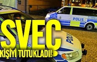 İsveç o kişiyi tutukladı
