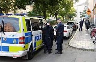 İsveç polisi bıçaklı bir kişiyi böyle vurdu...