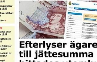 İsveç polisi, sokakta bulunan 200 bin kronun sahibini...