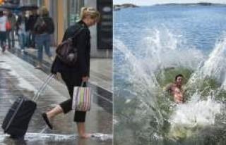 İsveç soğuk havanın etkisi altına girdi