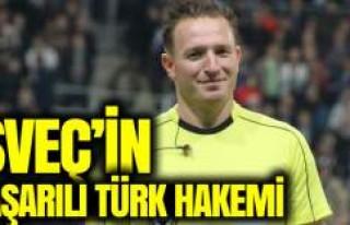 İsveç Süper Ligi'nin Başarılı Türk Hakemi