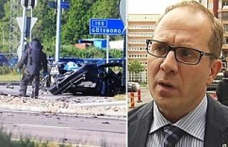 İsveç'te araca yerleştirilen bomba patladı:...