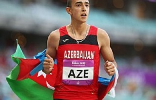 İsveç'te, Azerbaycanlı atlet 30 yıllık rekor...