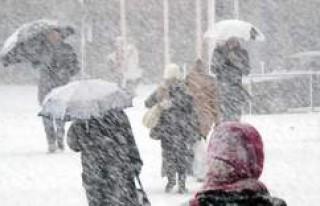 İsveç'te bazı bölgelere yılın ilk karı...