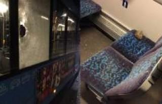 İsveç'te belediye otobüsüne taşlı saldırı:...