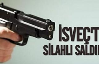İsveç'te bir kişi vuruldu