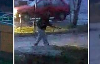 İsveç'te bu da oldu... Bir kadın silahla polisleri...