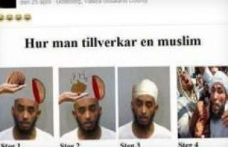 İsveç'te bu fotoğrafı paylaşan kişiye soruşturma...