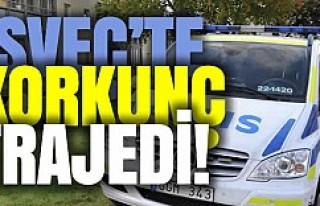 İsveç'te korkunç olay: annesini babasını...