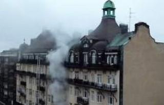 İsveç'te büyükelçilik binası kundaklandı