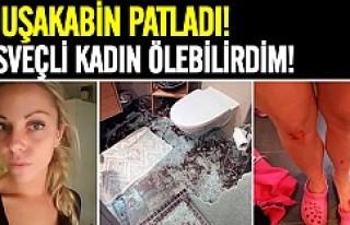 İsveç'te duşakabin patladı genç kadın ölümden...