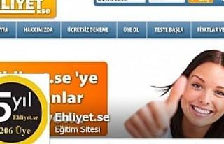 İsveç'te ehliyet sınavına evde Türkçe çalışma...