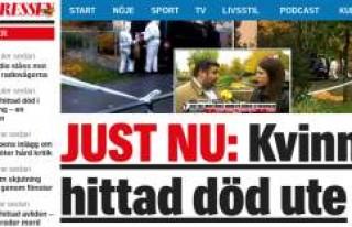 İsveç'te ''Erkek Şiddeti' bir...