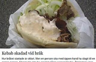 İsveç'te Güldüren Polis Raporu: Bir Kebab...