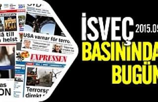 İsveç'te basınında günün konusu göç dramı