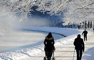 İsveç'te Hava Sıcaklığı Eksi 35'i...