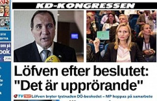 İsveç'te hükümetin düşmesi için düğmeye...